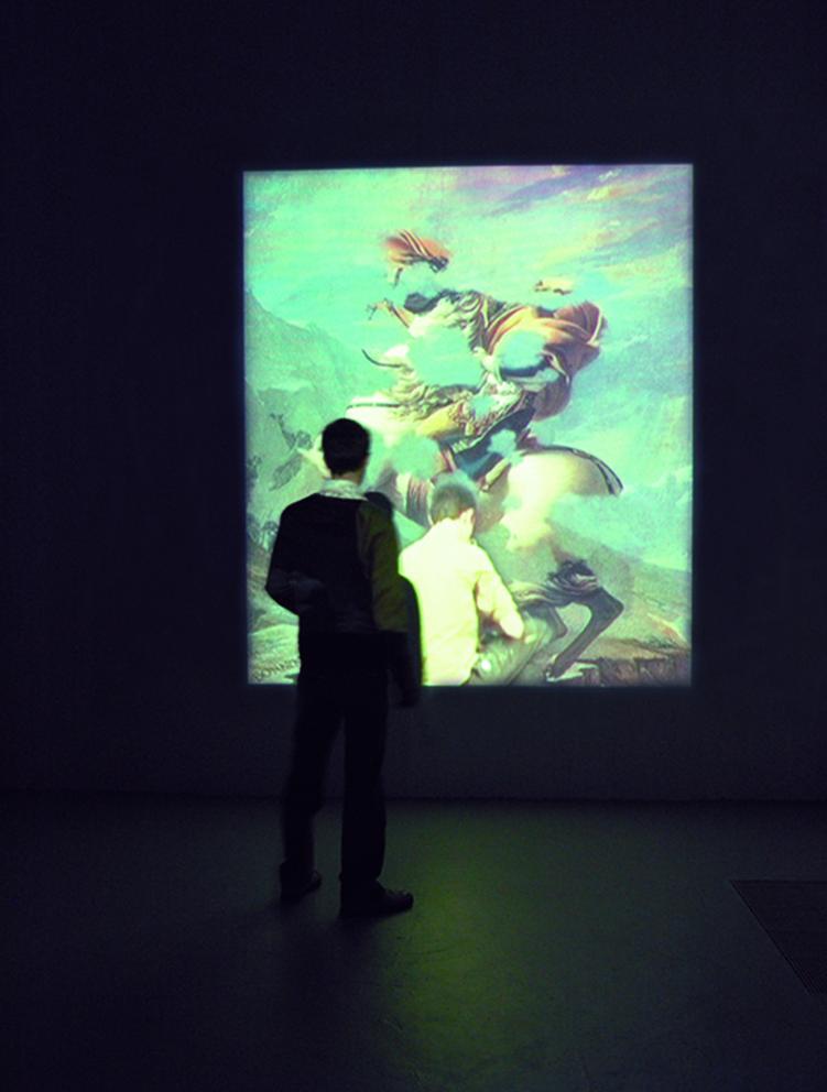 Vue d'exposition 2007