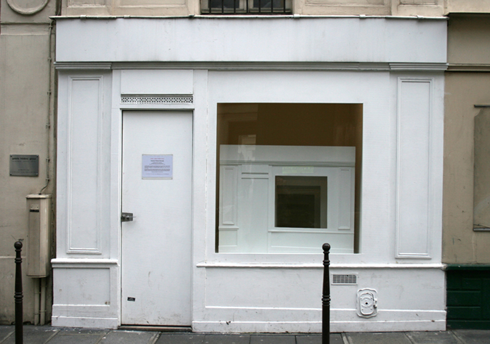 Exhibitions views, Frédéric Giroux gallery, Paris, 2007.